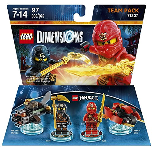 LEGO Dimensions, Ninjago Team Pack by Warner Home Video – Games