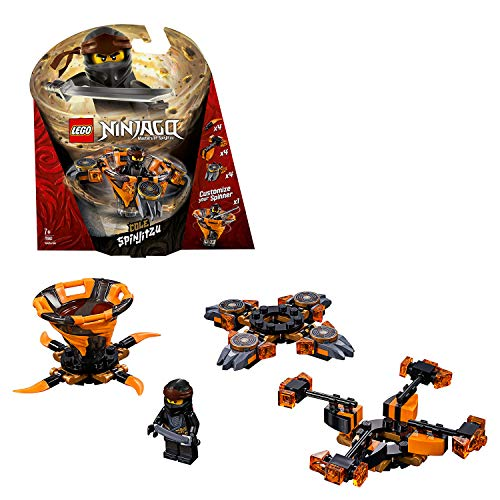 LEGO NINJAGO – Toupie Spinjitzu Cole – 70662 – Jeu de construction