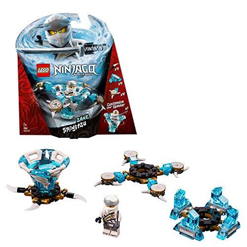 LEGO NINJAGO – Toupie Spinjitzu Zane – 70661 – Jeu de construction