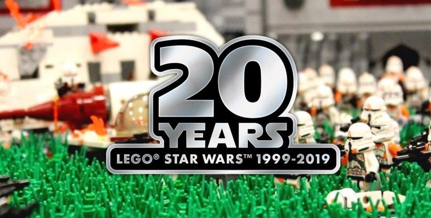 20e anniversaire de LEGO® Star Wars™ fandom: les plus grandes batailles JAMAIS construites