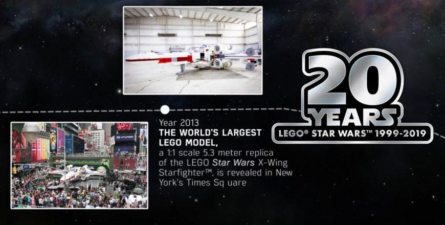 Voici 20 ans de nostalgie LEGO Star Wars en 2 minutes