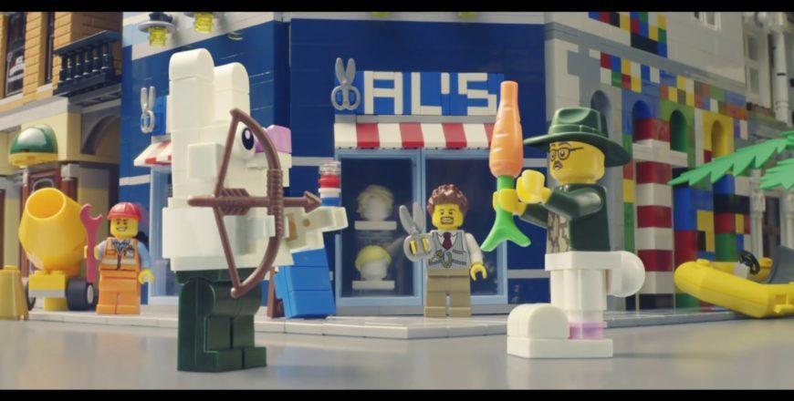 Superbe pub pour Lego : Reconstruis le monde