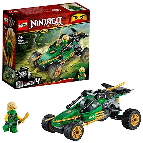 NINJAGO Legacy,  Le buggy de la jungle, Voiture avec figurine de Lloyd, 112 pièces, 71700