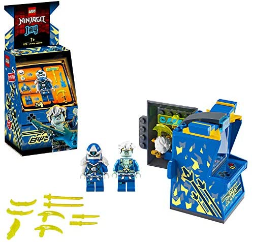 Avatar Jay – Capsule Arcade, Prime Empire Ninja, 104 pièces, 71715 LEGO NINJAGO