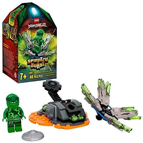 Toupie Spinjitzu Attack (Burst), Lloyd Vert (48 pièces) LEGO Ninjago 70687