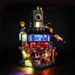 LIGHTAILING Jeu De Lumières pour (Ninjago City) Modèle en Blocs De Construction - Kit De Lumière A LED Compatible avec Lego 70620(Ne Figurant Pas sur Le Modèle)