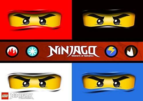 Feuille Comestible A4 Azyme Lego Ninjago
