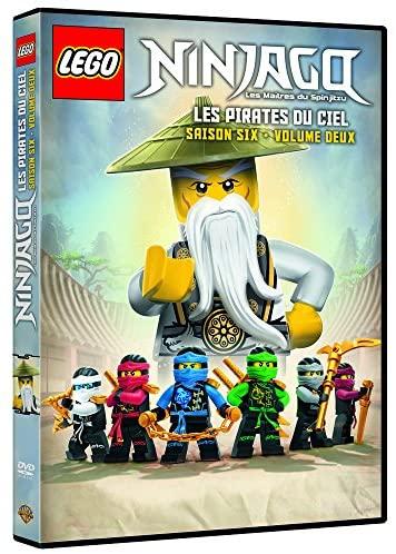 DVD Lego Ninjago, Les maîtres du Spinjitzu, Saison 6-Volume 2 Les Pirates du Ciel