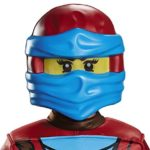 LEGO Ninjago Movie- Lego Ninjago Kids Masks NYA Déguisement, DISKX98899, Taille Unique