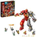 LEGO Ninjago - 71720 Le Robot de feu et de Pierre (968 pièces)