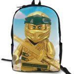 N-in-Ja-Go Cool 3D Printing School Backpack Book Sacs pour garçon Fille