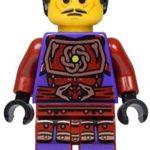LEGO® Ninjago: minifigurine Clouse with spear / halberd 2015