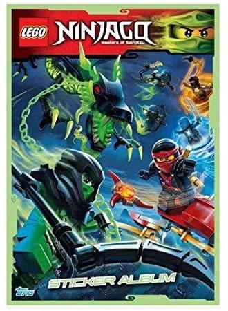 LEGO Ninjago Album de Collectiond'autocollants