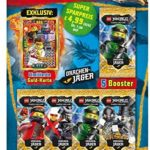 Top Media 180323 Lego Ninjago Serie IV Lot de 5 boosters et Carte en Or limitée Multicolore