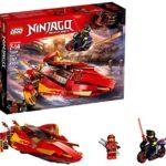 Lego Ninjago Le Bateau Katana V11 70638 (257 pièces)