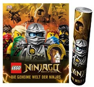 Le monde secret de la sortie Ninjas + Poster Ninjago