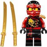 LEGO Ninjago Minifigure Kai Skybound with 2 Katana from Set 70591 70605