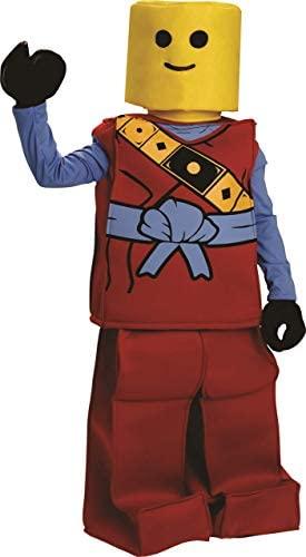 Déguisement ninja rouge, 8-10 ans