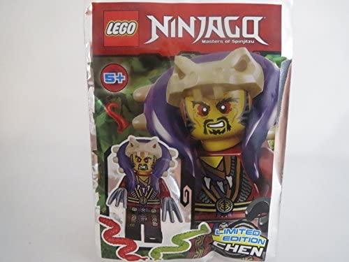 Figurine Meister Chen avec les griffes et 2Serpents, éditionlimitée,891732Lego Ninjago