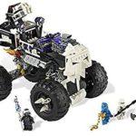 LEGO Ninjago - 2506 - Jeu de Construction - Le 4X4 Squelette