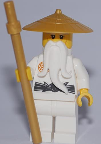 LEGO Ninjago: Minifigure Maître Wu 70596 VERSION RARE