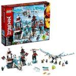 LEGO Ninjago 70678 Forteresse de Glace avec des Dragons de Glace (1218 pièces)