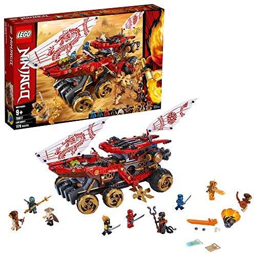 LEGO Ninjago 70677 Le Q.G des Ninjas (1178 pièces)