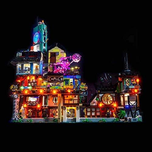 Kit d'Éclairage LED pour Les quais de la Ville Ninjago Lego 70657