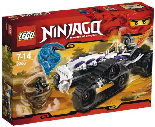 LEGO Ninjago – 2263 – Jeu de Construction – Le Dragster Squelette