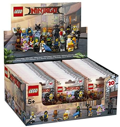 Lego Minifigurines Ninjago coloris aléatoire (lot de 60) 6175016