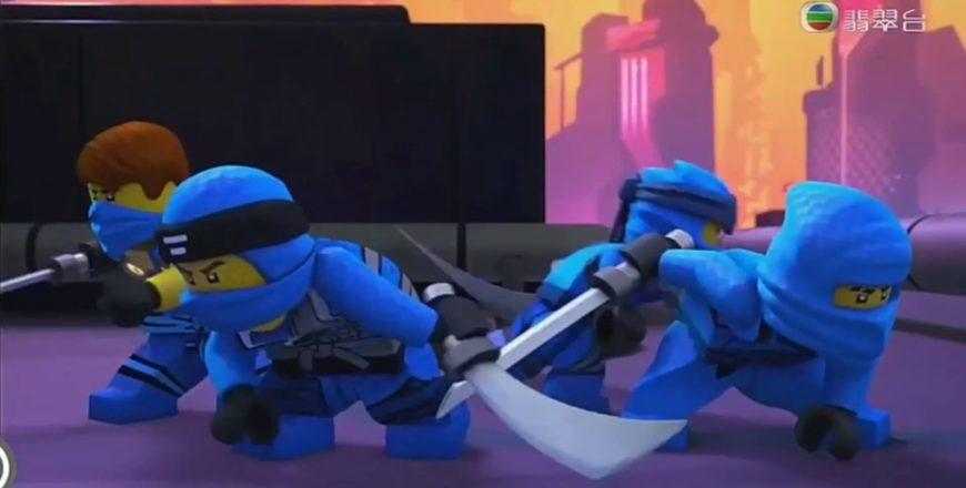 Ninjago Tribute, Jay «The Ninja Of Lightning», I Am Blue, Eiffel 65