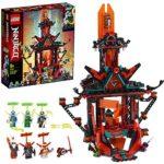 LEGO NINJAGO, Le temple de la folie de l'Empire, Set de construction avec 6 figurines, Jouet ninja pour enfants, 133 pièces, 71712