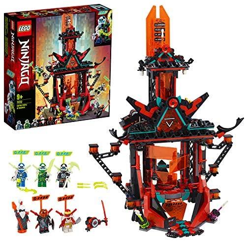Le temple de la folie de l'Empire, avec 6 figurines, 133 pièces, Lego 71712