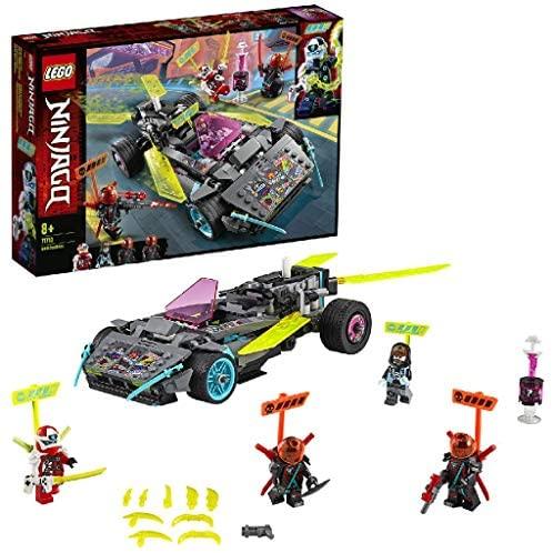 LEGO NINJAGO, La voiture ninja avec lames extensibles, Course Prime Empire, 126 pièces, 71710