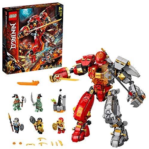 Le Robot de feu et de Pierre Ninjago, 71720, 968 pièces