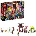 LEGO NINJAGO, Le marché des joueurs, Set de 9 figurines avec Digi Jay, l'avatar de Pink Zane et l'avatar d'Harumi