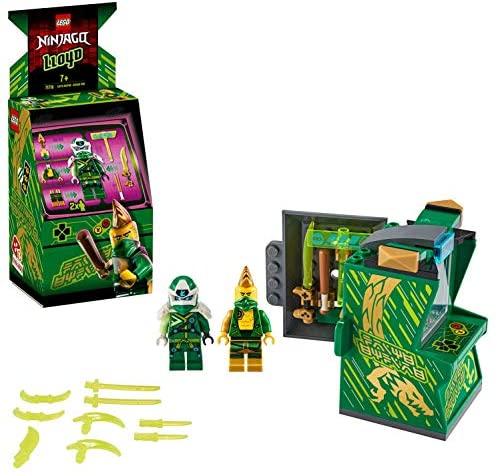 Avatar Lloyd – Capsule Arcade, Prime Empire Ninja, 104 pièces, 71716