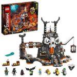 LEGO-Le Donjon du Sorcier au Crâne Ninjago Jeux de Construction, 71722, Multicolore